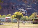 [Helicopter leaving Supai]