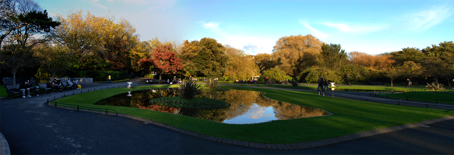 [Flooding in St. Stephen's Green]