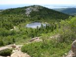 [Pond in the middle of Cadillac Mountain]