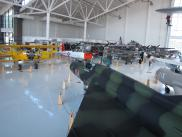 [Various planes in the Evergreen museum]