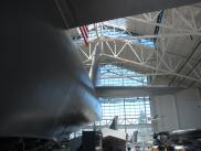 [The back of the Spruce Goose]